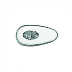 NASELLI PVC BIOMEDICALE INSERTO SILVER - SIMMETRICI 17,5 mm A PRESSIONE